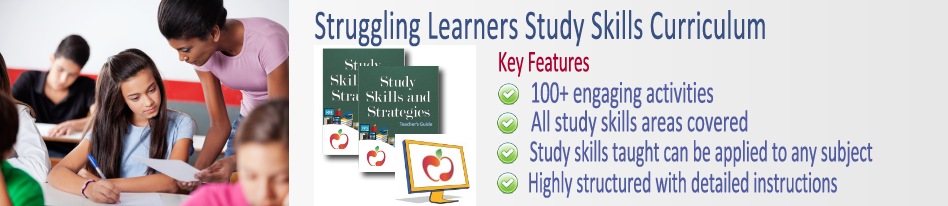 Study Skills Curriculums Illustration for Learning Disabilities