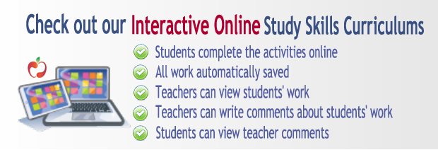 Online Study Skills Curriculums Illustration