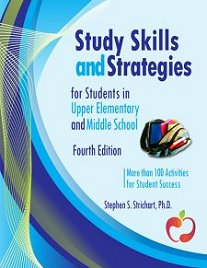 Book cover for upper elementary & middle school study skills curriculum