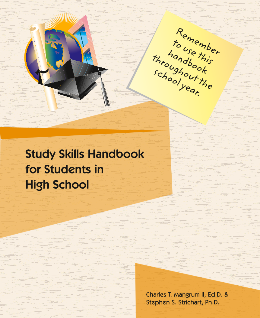 High School Struggling Learners Study Skills Handbook